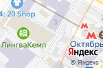 Схема проезда до компании Лига проектировщиков в Москве