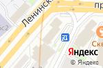 Схема проезда до компании Оформление виз в Великобританию в Москве