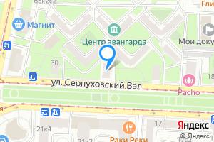 Снять комнату в Москве ул. Серпуховский Вал, 26