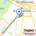 Пинсофт на карте Москвы