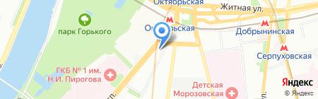 Фаворит МВ на карте Москвы
