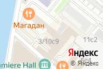 Схема проезда до компании Wunderbar в Москве