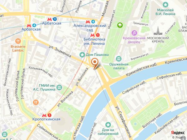 Остановка «Боровицкая пл.», Боровицкая площадь (5081) (Москва)