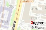 Схема проезда до компании Шаболовка-31 в Москве