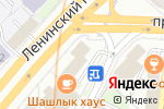 Схема проезда до компании Сервис Риэлти в Москве