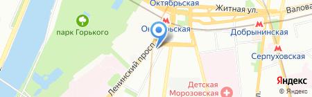 М@сква на карте Москвы