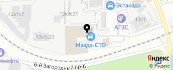 КАРСИ на карте Москвы