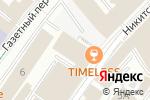 Схема проезда до компании РТК-ЦЕНТР ОБРАБОТКИ ДАННЫХ в Москве