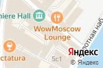 Схема проезда до компании Red Coworking в Москве