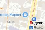 Схема проезда до компании Gift idea в Москве