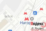 Схема проезда до компании Станция Нагорная в Москве