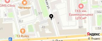 Мир Автодержателей на карте Москвы