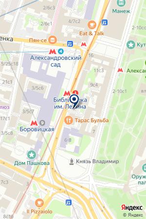 ЮРИДИЧЕСКОЕ АГЕНТСТВО АИР на карте Москвы