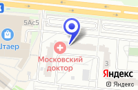 Схема проезда до компании ТФ МЦТО СЕРВИС в Москве