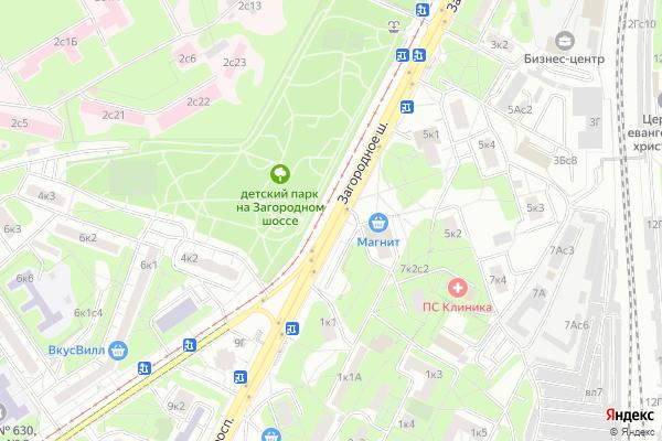 Ремонт телевизоров Загородное шоссе на яндекс карте