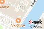 Схема проезда до компании CODE 7 в Москве