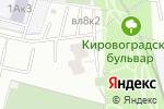 Схема проезда до компании Столичный Балкон в Москве