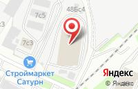 Схема проезда до компании Вернисаж в Москве