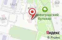 Схема проезда до компании Творческий Центр Гимн в Москве