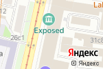 Схема проезда до компании Сервисно-визовый центр Германии в Москве