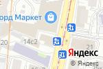 Схема проезда до компании Кругосветник в Москве