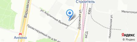 Гиперион на карте Москвы