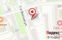 Схема проезда до компании Стрела в Москве