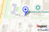Схема проезда до компании ПТФ БОТ в Москве