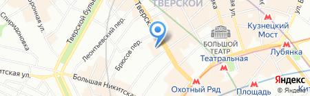 Телемама на карте Москвы