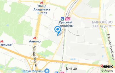 Местоположение на карте пункта техосмотра по адресу г Москва, ул Кирпичные Выемки, влд 12А стр 2