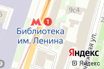 Схема проезда до компании QA Hotel Service в Москве