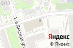 Схема проезда до компании NailService в Москве
