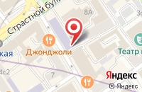 Схема проезда до компании Экран и Сцена в Москве