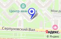 Схема проезда до компании ГОЛДЕН СПА в Москве