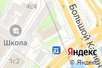 Схема проезда до компании Российская книжная палата в Москве