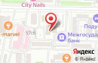 Схема проезда до компании Тотал Дивиди в Москве