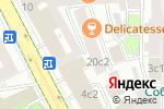 Схема проезда до компании Арт Галактика в Москве