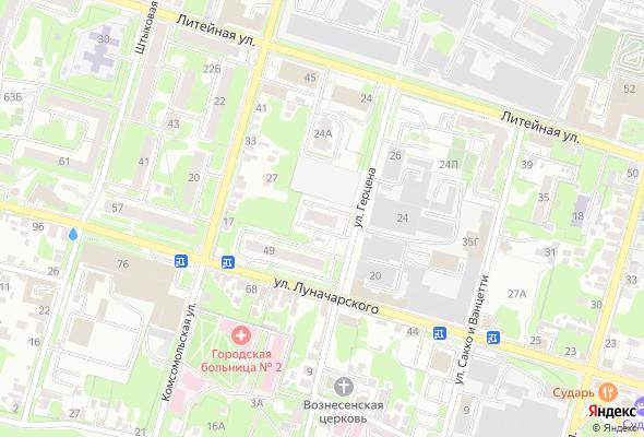 купить квартиру в ЖК по ул. Луначарского/Герцена