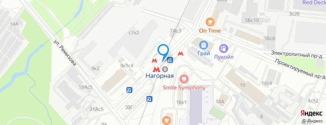 метро Нагорная