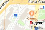 Схема проезда до компании Пушинка.ру в Москве