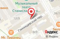 Схема проезда до компании Бамо-Девелопер в Москве