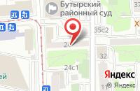 Схема проезда до компании Форекс Стар в Москве