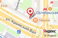 Схема проезда до компании Инфоком в Москве