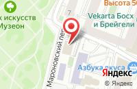 Схема проезда до компании В.Н.В. и Ко в Москве