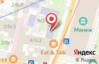 Схема проезда до компании Контакт в Москве