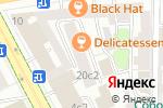 Схема проезда до компании ЮрбИС в Москве