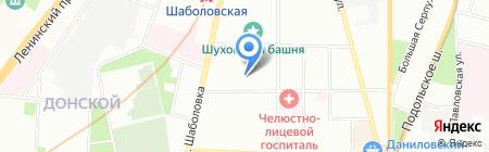 Первая школа радио и ТВ на карте Москвы