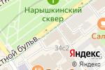 Схема проезда до компании Активный театр в Москве