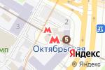 Схема проезда до компании Мистер картошка в Москве