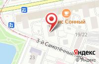 Схема проезда до компании Терра-скан в Москве